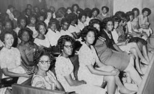 Female FAMU students protest segregation